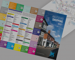 Knutsford Shopping Map
