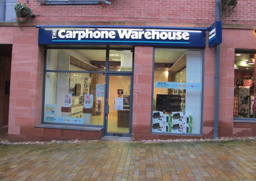 Carphone Warehouse, Knutsford