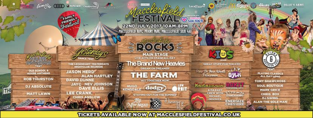 Macclesfield Music Festival 2017