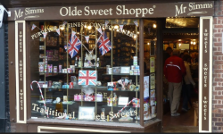 Mr Simms Olde Sweet Shoppe, Knutsford, Cheshire
