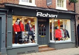 Rohan Outdoor Clothes Shop