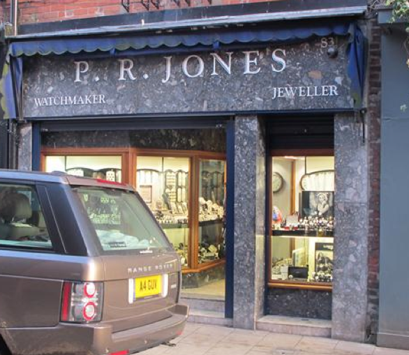 PR Jones, Watchmakers and Jewellery
