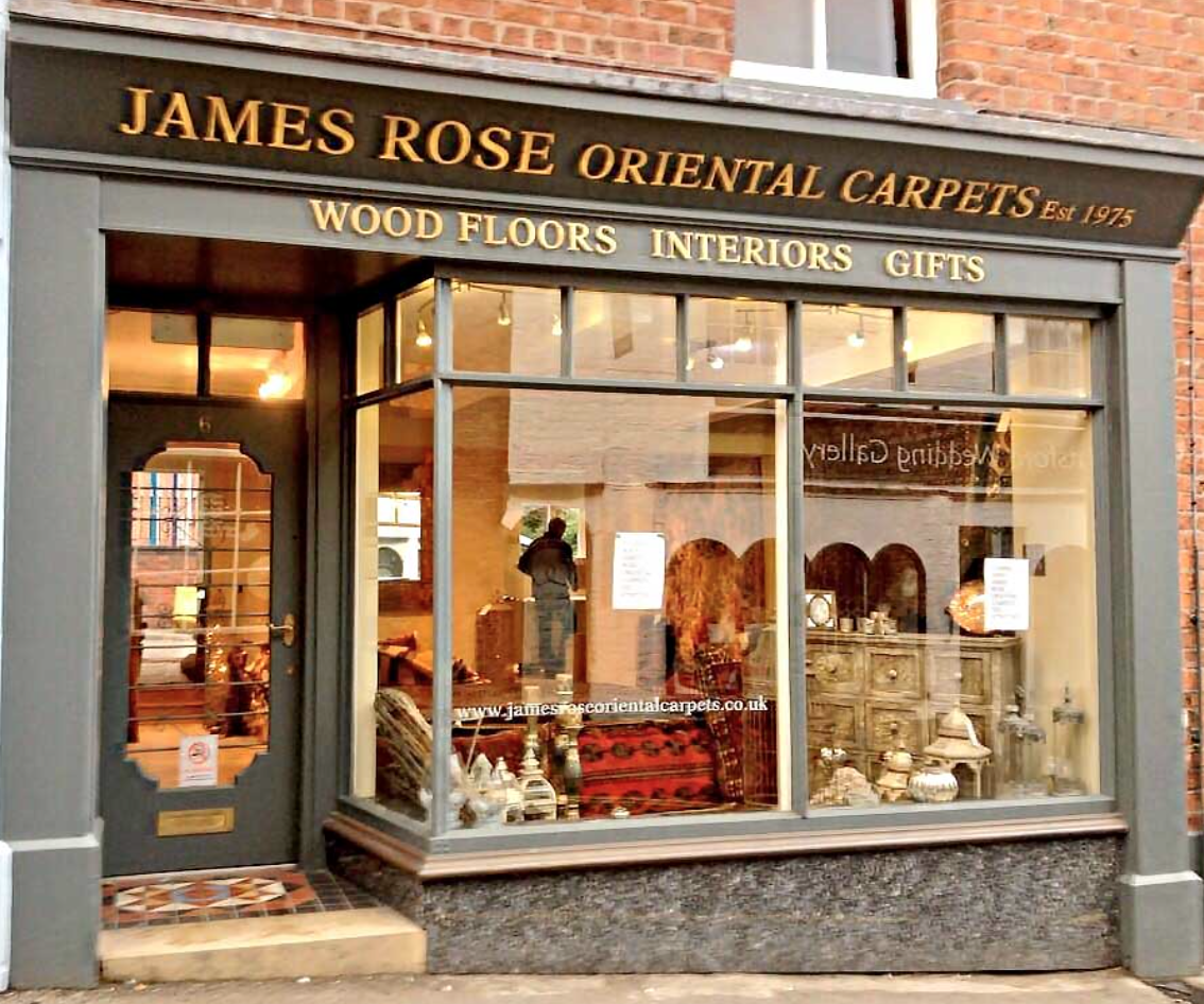James Rose Oriental Carpets, Knutsford, Cheshire
